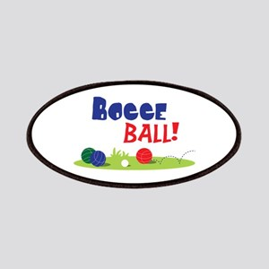 BOCCE BALL! Patches