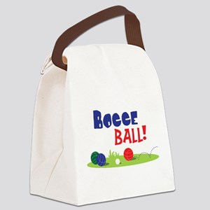 BOCCE BALL! Canvas Lunch Bag