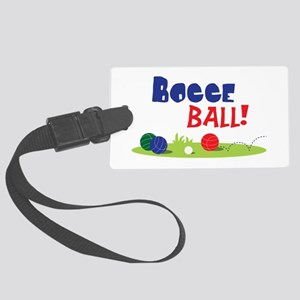 BOCCE BALL! Luggage Tag