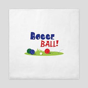 BOCCE BALL! Queen Duvet