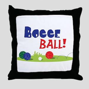 BOCCE BALL! Throw Pillow