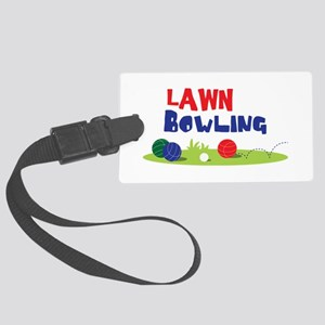 LAWN BOWLING Luggage Tag