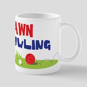 LAWN BOWLING Mugs