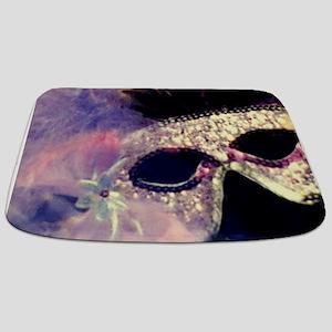 Mardi Gras Mask Bathmat