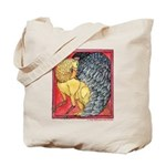 Watercolor Griffin Tote Bag