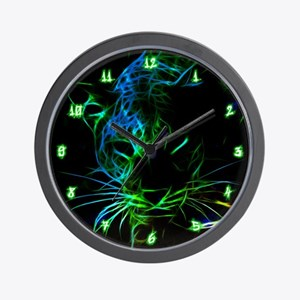 Leopard Wall Clock