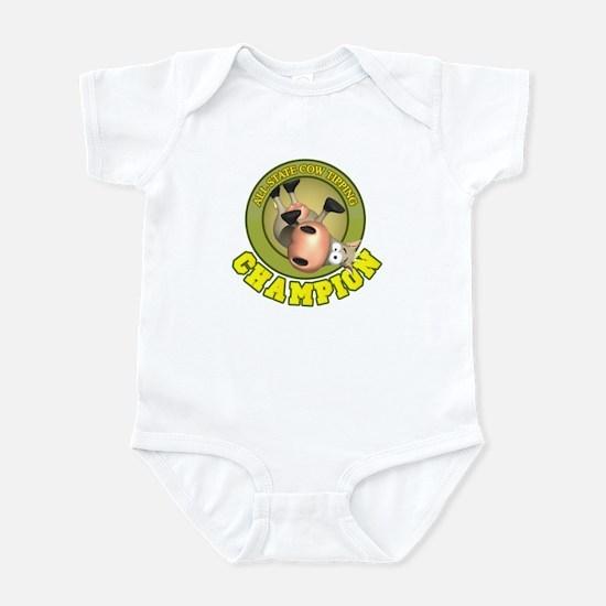 Cow Tip Champ Infant Bodysuit