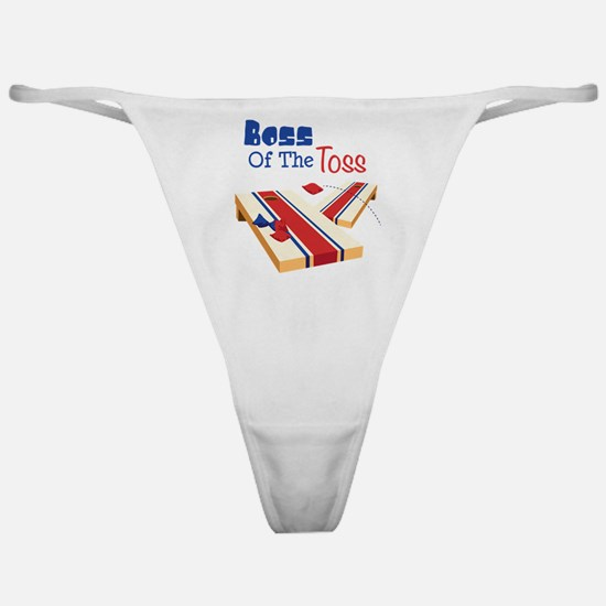 BOSS OF THE TOSS Classic Thong