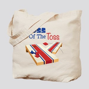 BOSS OF THE TOSS Tote Bag