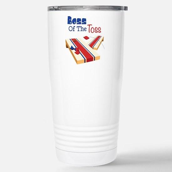 BOSS OF THE TOSS Travel Mug