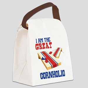 I AM THE GREAT CORNHOLIO Canvas Lunch Bag