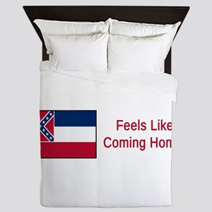 Mississippi Motto #2 Queen Duvet