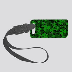 Shamrock Clover Luggage Tag