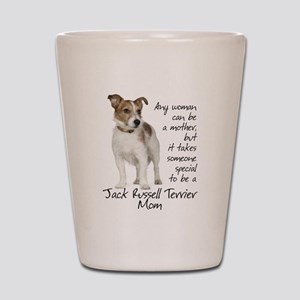 Jack Russell Mom Shot Glass