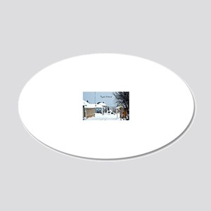 Raahe, Finland  20x12 Oval Wall Decal