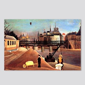 Rousseau - Ile Saint Loui Postcards (Package of 8)