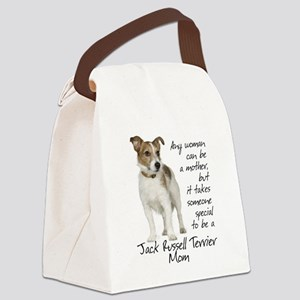 Jack Russell Mom Canvas Lunch Bag