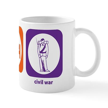 Eat Sleep Civil War Mug