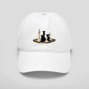 Chess Pieces Game Baseball Cap