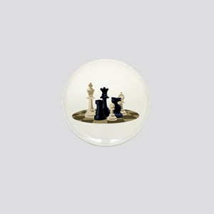 Chess Pieces Game Mini Button