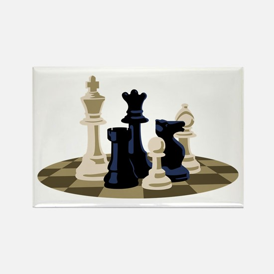 Chess Pieces Game Magnets