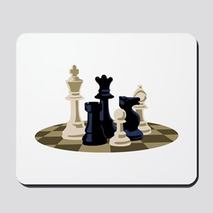 Chess Pieces Game Mousepad
