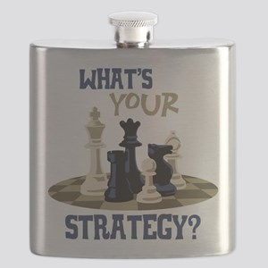 WHATS YOUR STRATEGY? Flask