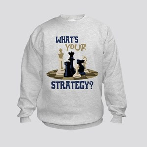 WHATS YOUR STRATEGY? Sweatshirt
