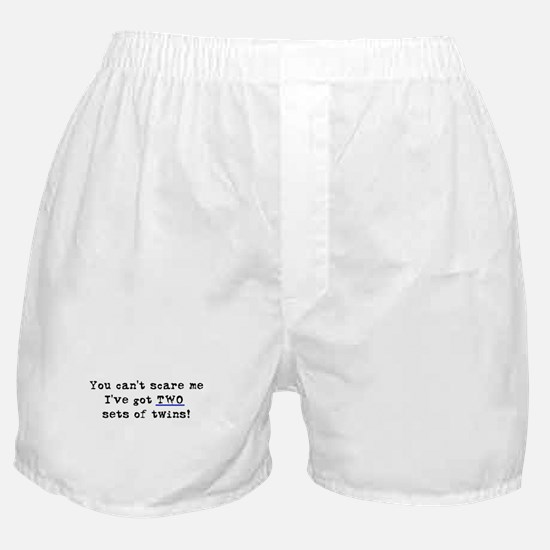 Can't Scare Two Sets Boxer Shorts