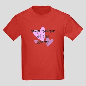 Step Mother of the Groom Kids Dark T-Shirt