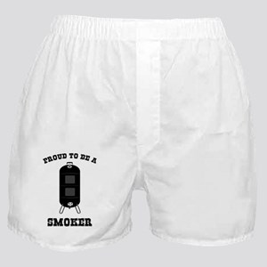 Proud to be a Smoker - Grilling Humor Boxer Shorts