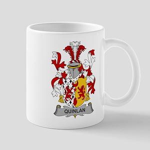 Quinlan Family Crest Mugs