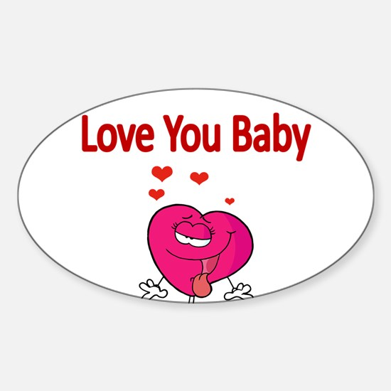 Love You Baby Decal