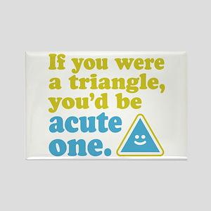 Acute Triangle Rectangle Magnet