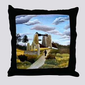 Rousseau - The Quarry Throw Pillow