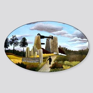 Rousseau - The Quarry Sticker (Oval)