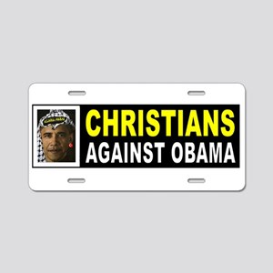 OBAMA CHRISTIAN BUMPER_001 Aluminum License Plate