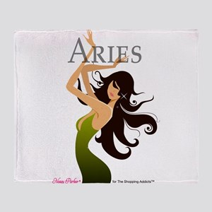 The Shopping Addicts Aries Throw Blanket