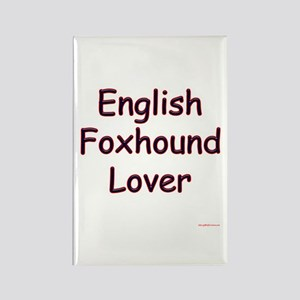 Foxhound Lover Rectangle Magnet