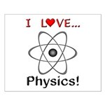 I Love Physics Small Poster