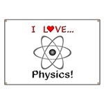 I Love Physics Banner