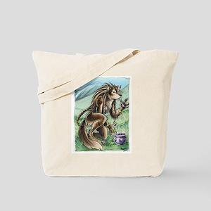 Furry Werewolf Shaman Tote Bag