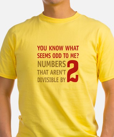 Odd Even Numbers T