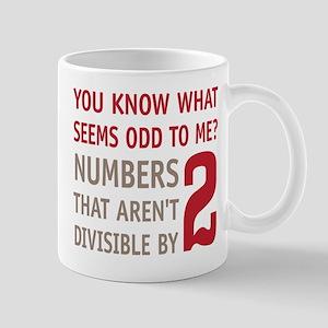Odd Even Numbers Mug