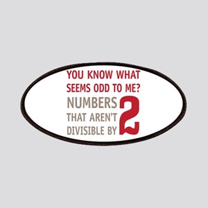 Odd Even Numbers Patches