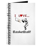 I Love Basketball Journal