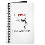 I Love Basketball Journal