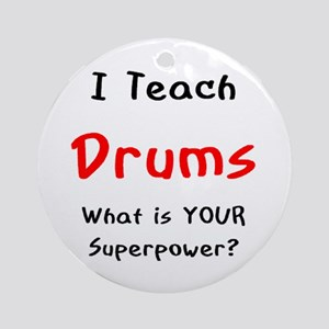 teach drums Ornament (Round)