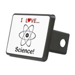 I Love Science Rectangular Hitch Cover