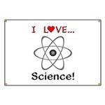 I Love Science Banner